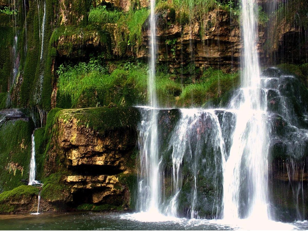 Cascate del Rio Verde nel Comune di Borrello