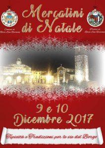Mercatini di Natale a Rocca San GIovanni 2017