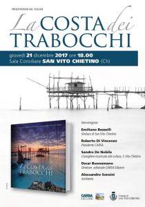 Presentazione del libro sulla Costa dei Trabocchi a San Vito Chietino