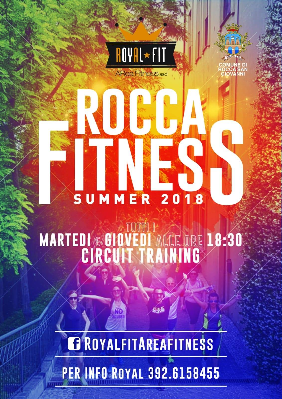 Locandina Rocca Fitness 2018